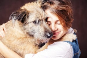 Adopting older dogs from animal shelters.